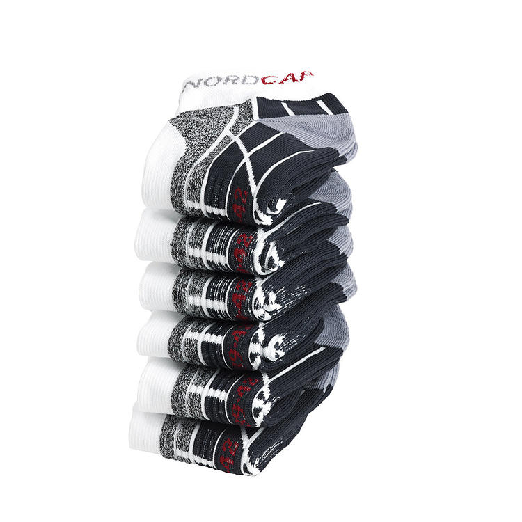 Nordcap Allround-Sportsocken kurz, 6er Pack