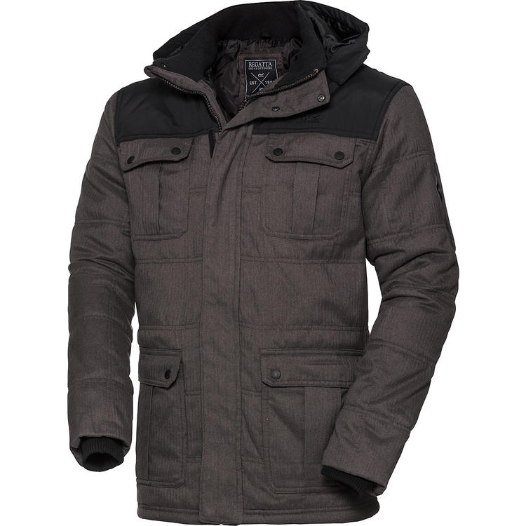 Regatta Herren Jacke in Woll-Optik