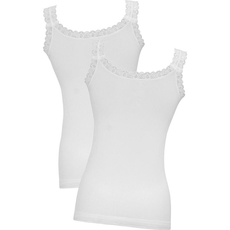 Belmina 2er Pack Spitzen-Tops