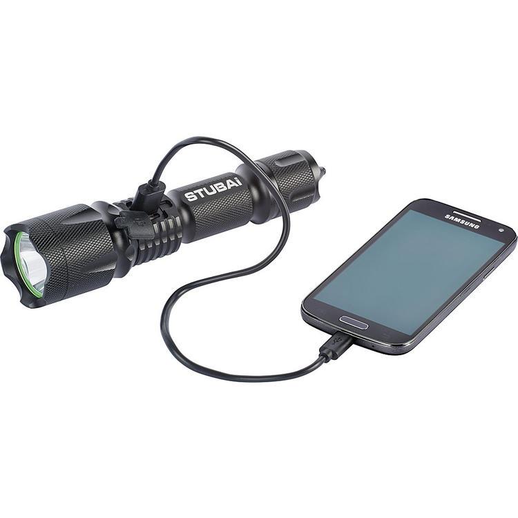 Stubai Led-Aluminium-Taschenlampe