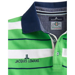 Jacques Lemans Poloshirt gestreift
