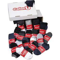 ColorU 100 Paar Socken Box