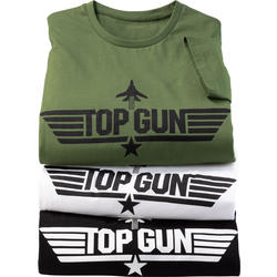 Top Gun 3er Pack Herren T-Shirts
