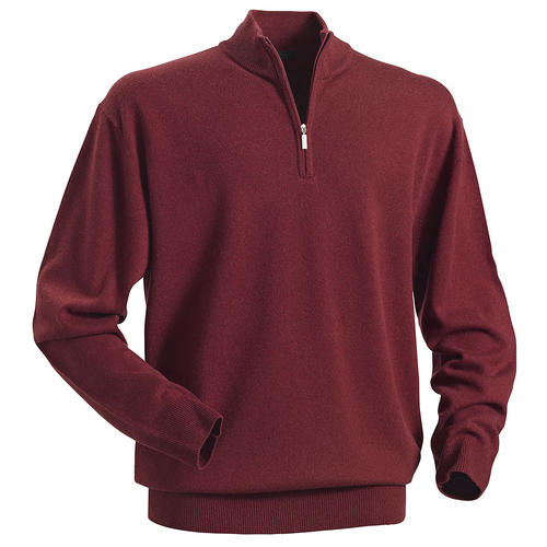 Royal Spencer Herrenpullover Kaschmir-Seide Zipp