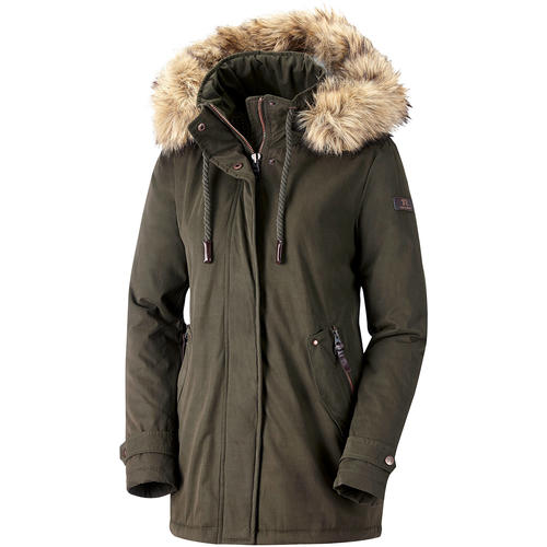 Tom Ramsey Damen Parka mit Fell-Kapuze