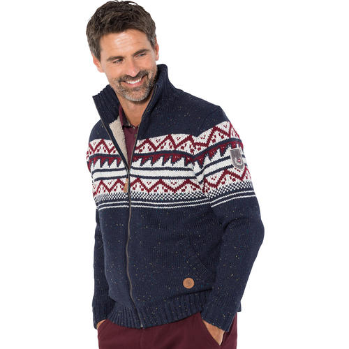 Hinterstoisser Herren Norweger-Strickjacke