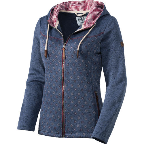 Tiroler Loden Damen Strickfleece-Jacke