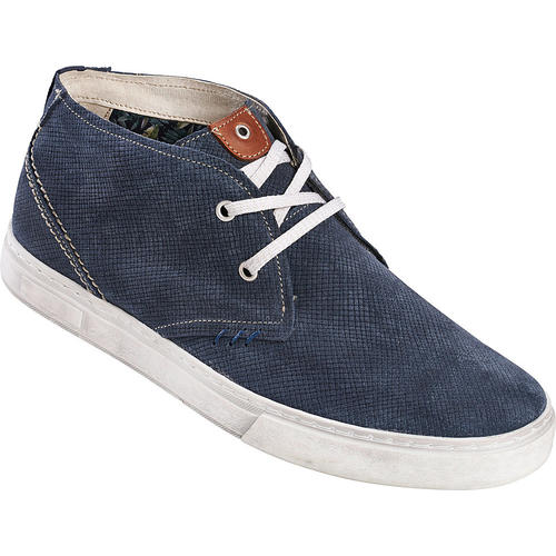 Tom Ramsey Ledersneakers, hoch